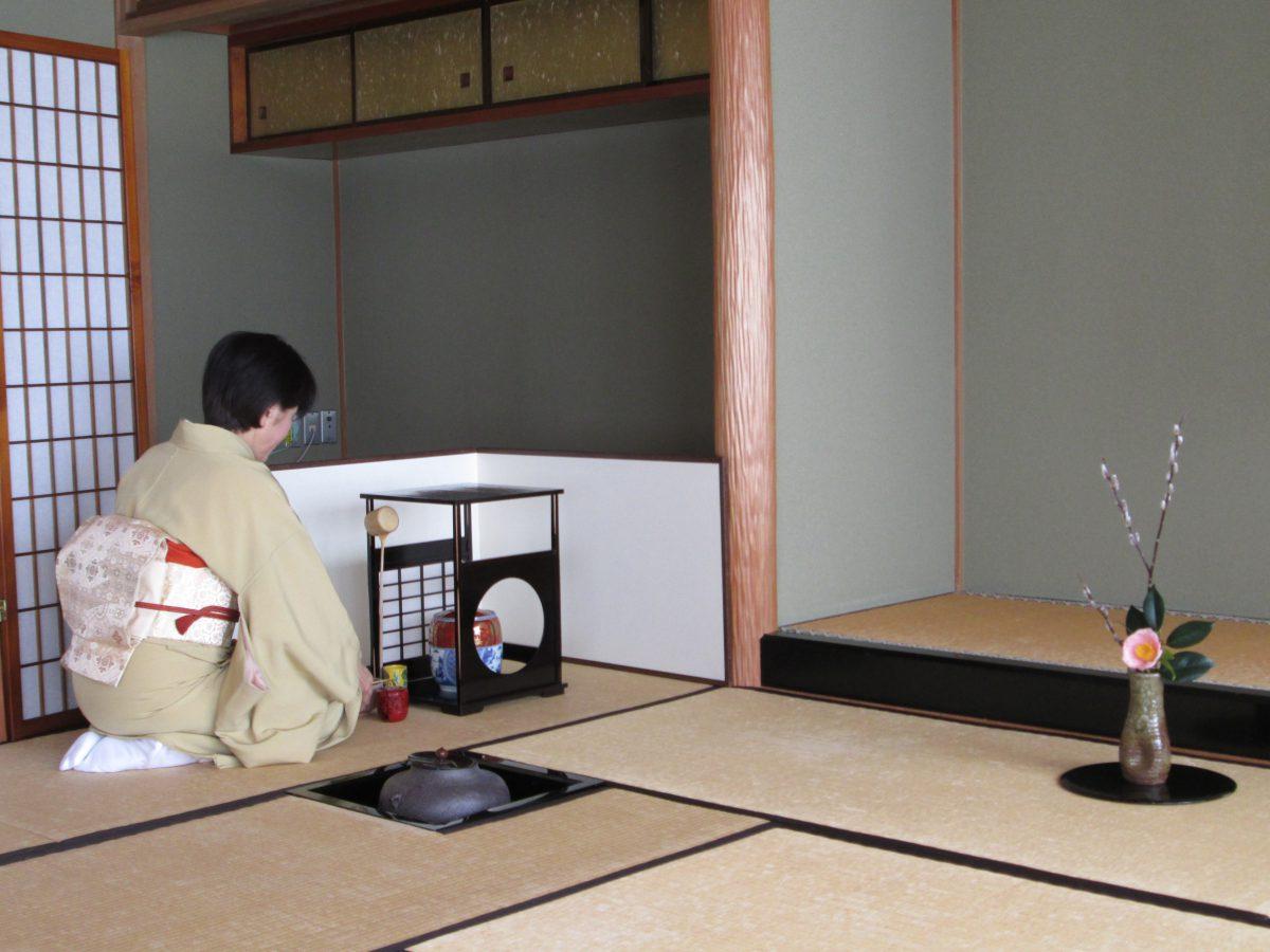 季節を楽しむ茶道教室 (裏千家)