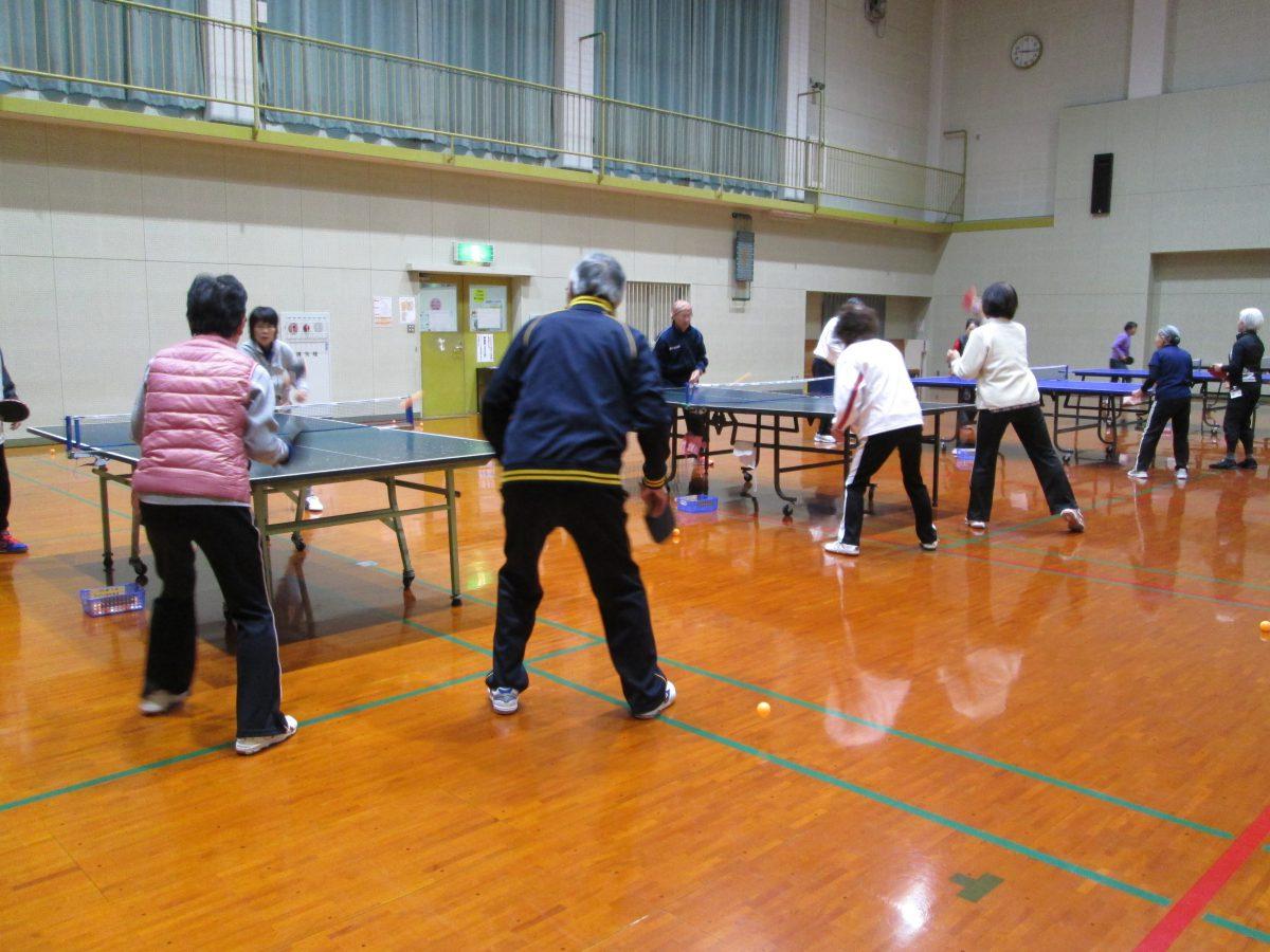 交流を楽しむ卓球教室(ラージボール)
